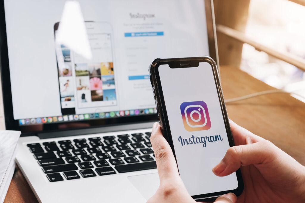 Instagram Stories swipe funktion